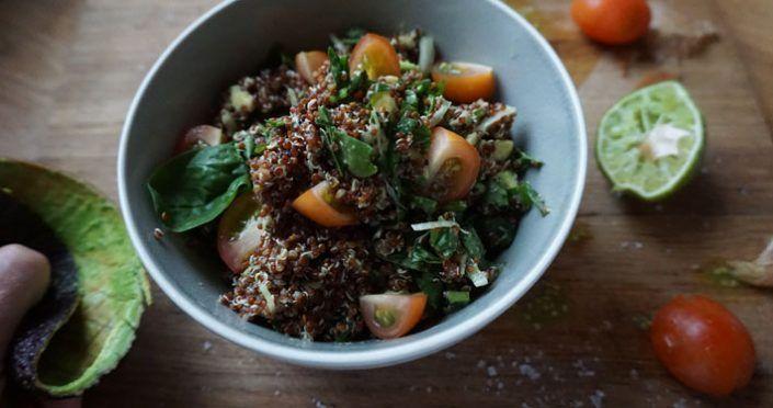 Frukostsallad med Quinoa