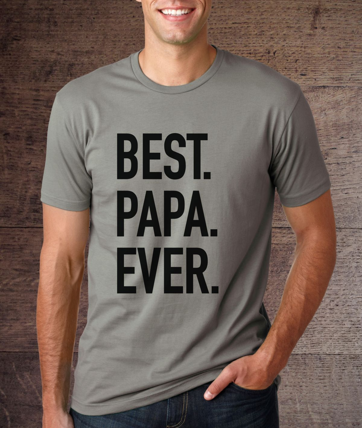 7a66fd21f0f BEST. PAPA. EVER. Get it just in time for Father s Day at 52% off ...