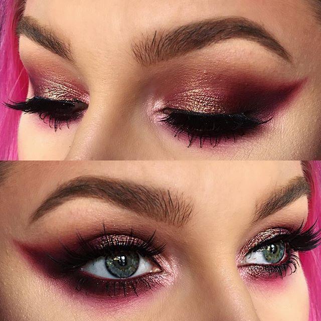 Shadows Thebalm Cosmetics Meet Matte Trimony Palette Anastasiabeverlyhills Vibrant Pink Eyeshadow Dusty Rose Eyesha Eyeliner Lipstick For Fair Skin Makeup