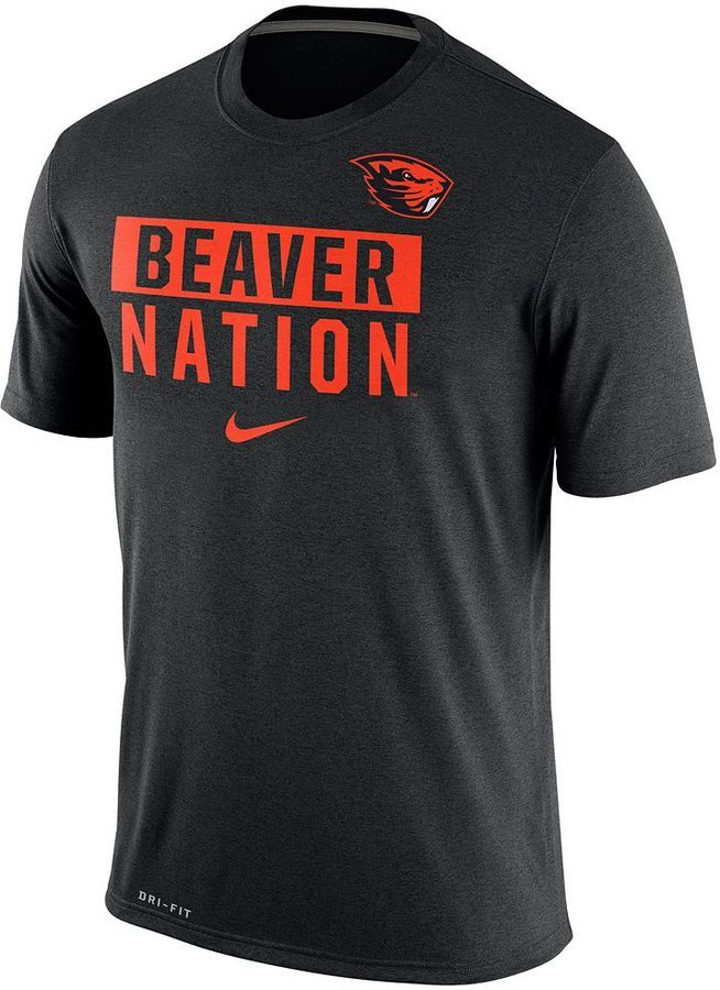 Conquer the stadium like a true legend with this men's Nike Oregon State  Beavers tee.