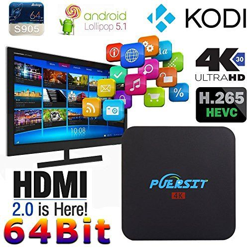 Puersit Android Tv Box Review Unboxing Android Tv Box Streaming Media Kodi