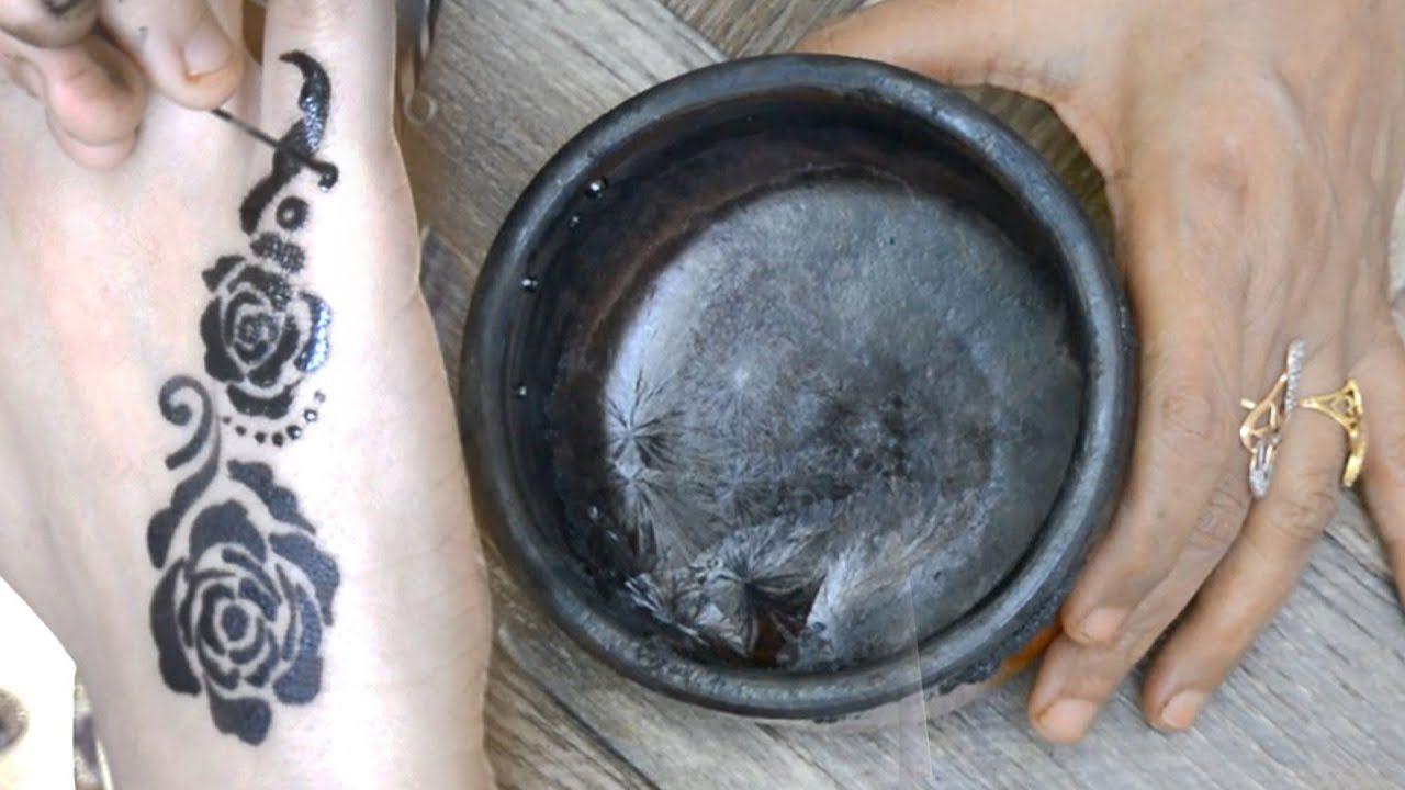 عمل الخظاب اليمني في المنزل How To Make Yemeni Khezab Or Natural Black Henna Black Henna Iron Pan Cast Iron Pan