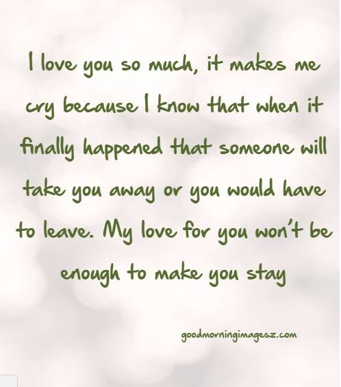 Sad Crying Quotes About Love: Sad Love Quotes That Make You Cry