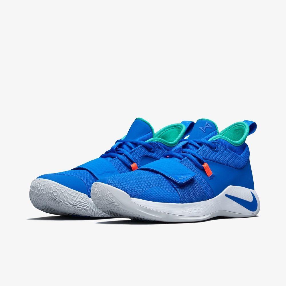 55313af79d4f1b Nike PG 2.5 Fortnite Basketball Shoes Blue White Men s SZ 10.5 BQ8452-401   fortnite