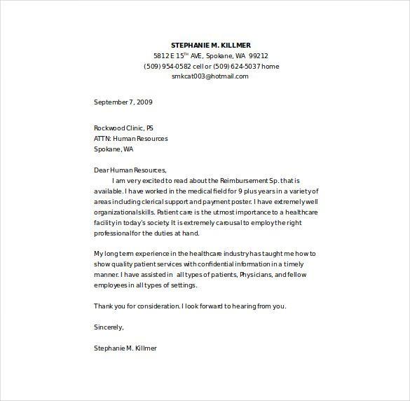 Cover Letter Template Nursing 1-Cover Letter Template Resume