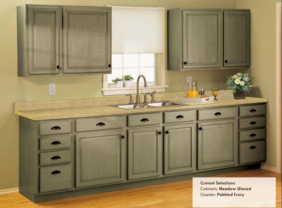 Rustoleum Cabinet Transformations   Meadow Glazed Is My Favorite :)