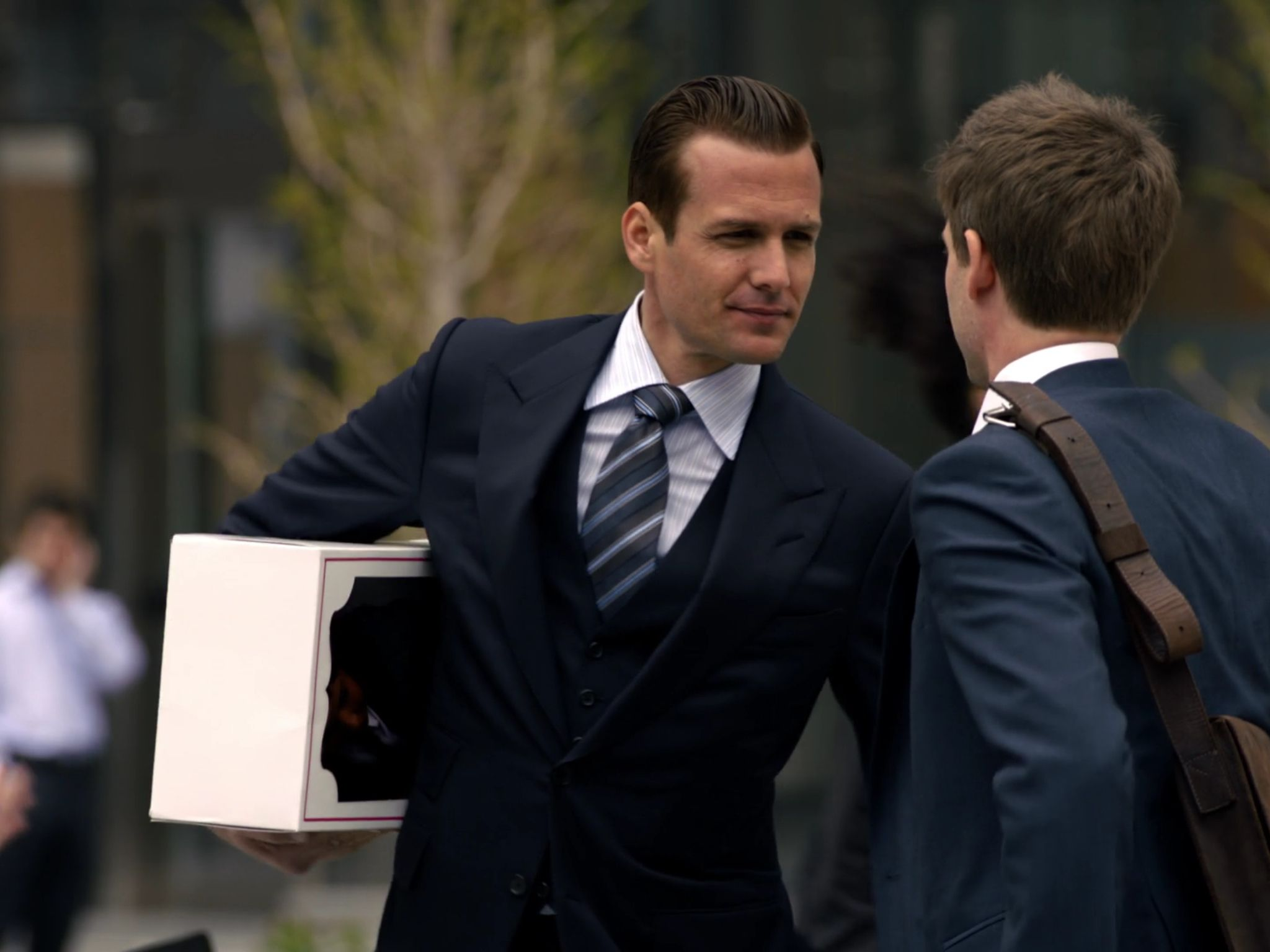 """Never underestimate the power of a perfectly tailored suit, gentlemen. Gabriel Macht of """"Suits"""""""