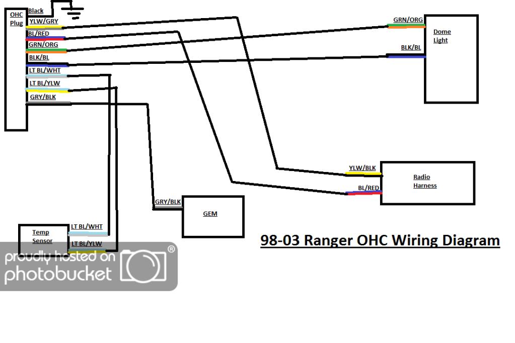 98 ford ranger wiring diagram #4 | ford ranger, ranger, ford think  pinterest