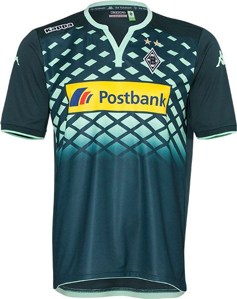 Borussia Mönchengladbach 2015-16 Kappa Away Kit  d2dca1314b64a