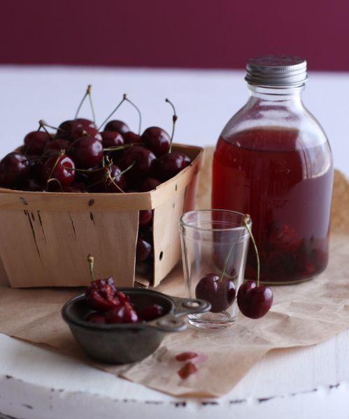 DIY Bourbon Cherries.