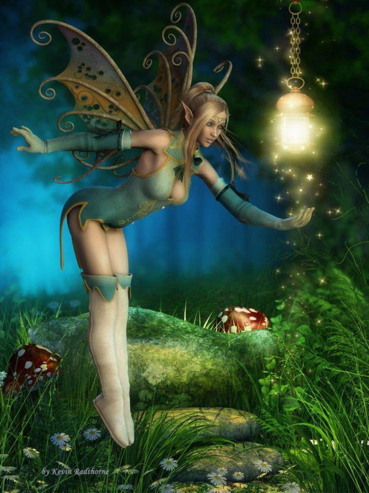 Картинки с феи и эльфов