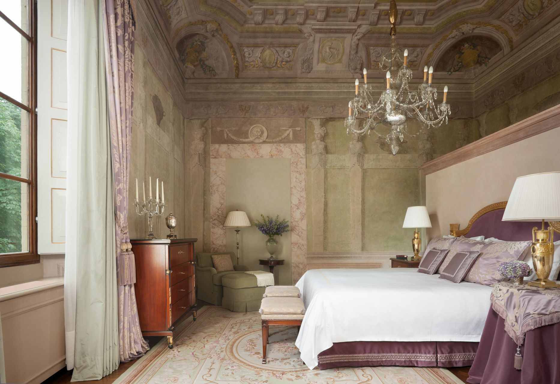 Noble Suite Cancellerie at the Four Seasons Firenze Hotel in Florence, Italy