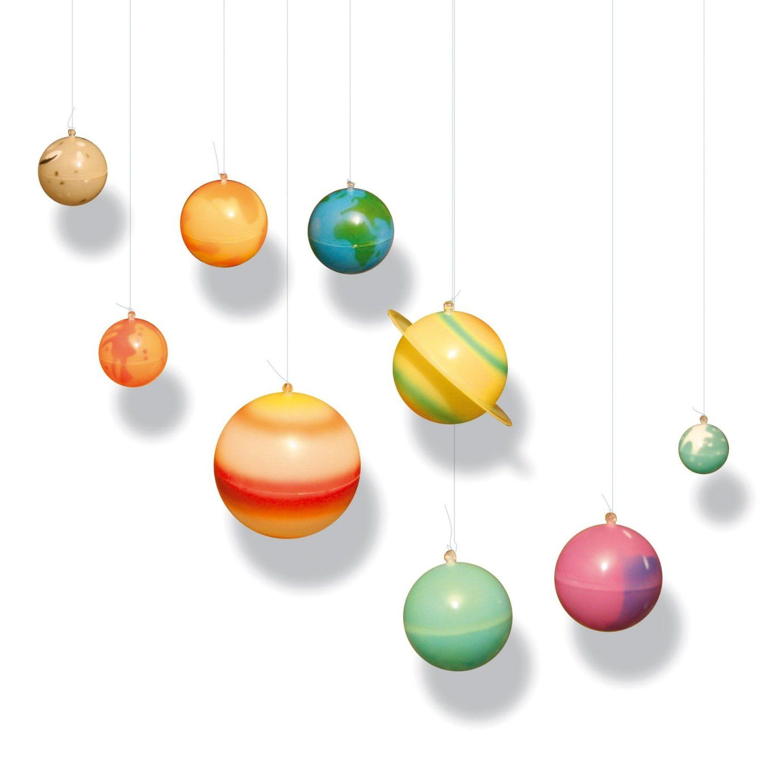 Hanging Solar System That Glows In The Dark The Start Of The - Hanging solar system for kids room