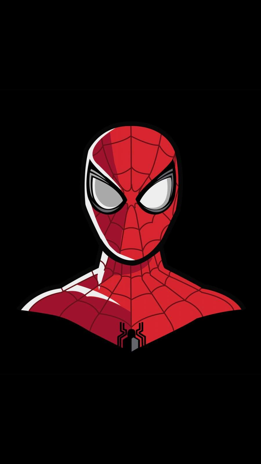 Spiderman 4k Minimal Iphone Wallpaper In 2020 Spiderman Artwork Spiderman Superhero Wallpaper