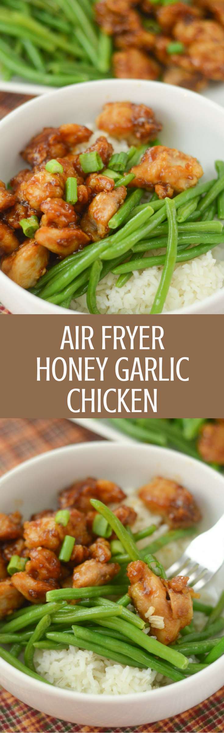Air Fryer Honey Garl