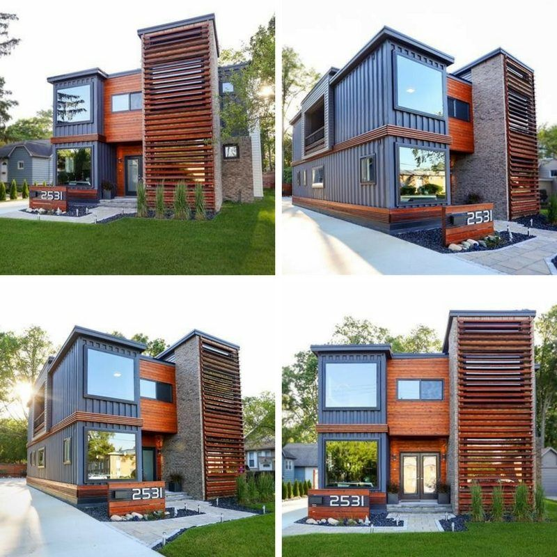 Royal Oak Shipping Container House Building A Container Home