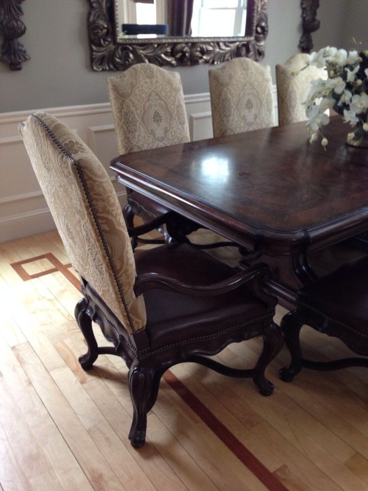Thomasville Furniture Dining Table And Chairs Hills Of Tuscany Bibbiano Thomasville Furniture Dining Furniture