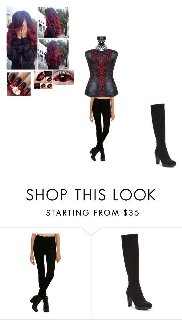 """dont mess with a succubus/ vampire"" by deadkittymeow ❤ liked on Polyvore featuring Donald J Pliner and Ultimate"