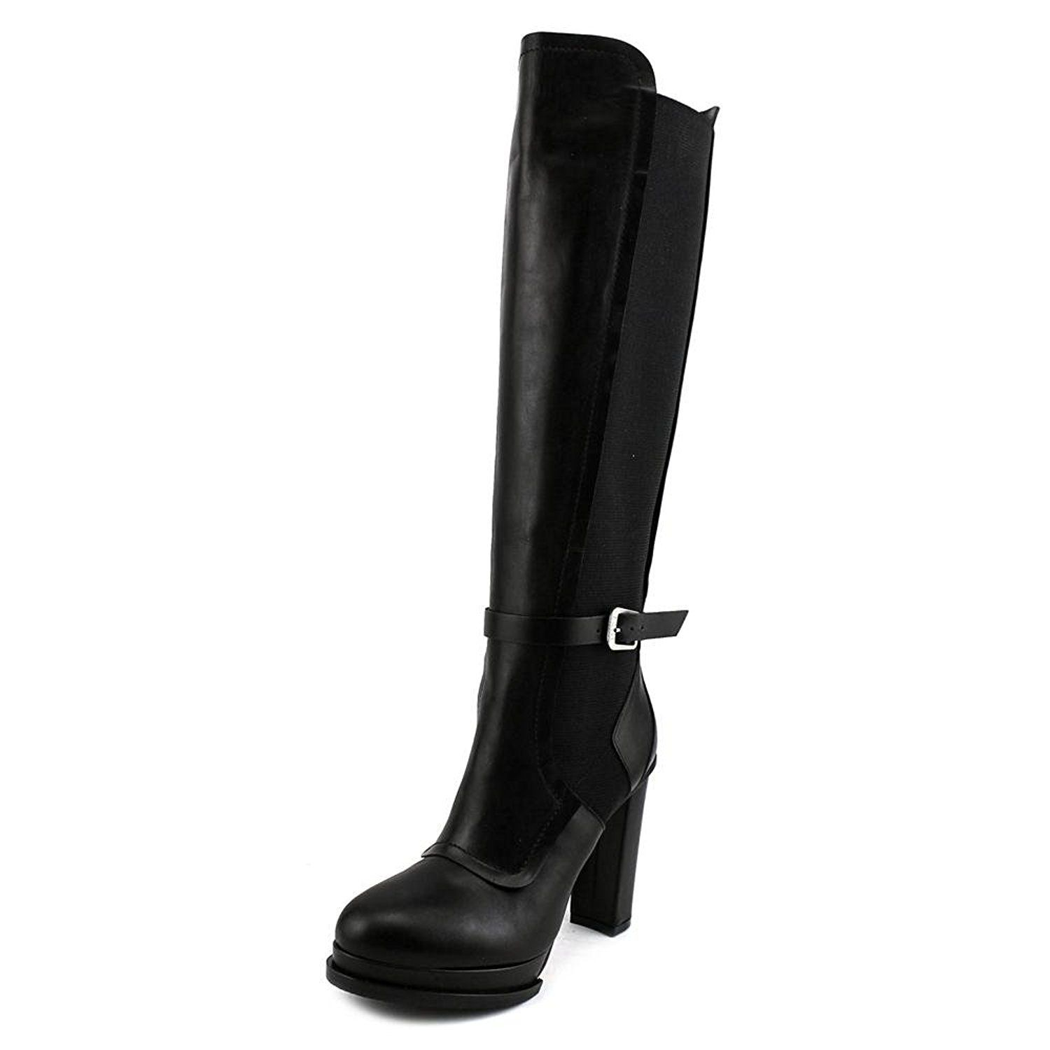 No.21 8364 Women Round Toe Leather Black Winter Boot ** More info could be found at the image url.