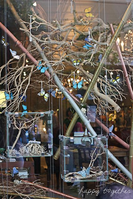 jewelry in a butterfly forest.  Me likey