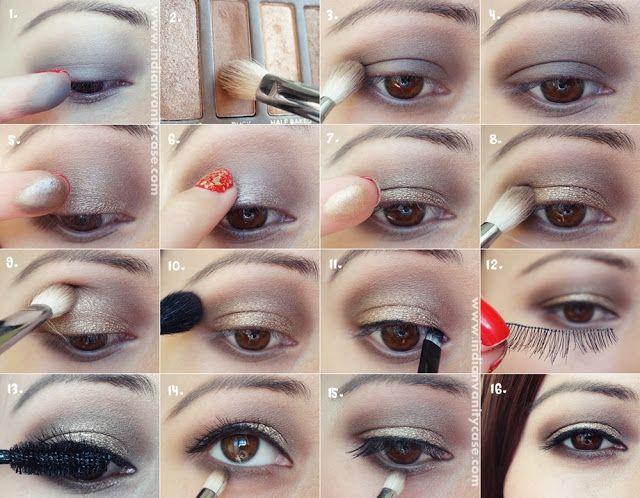 Indian Vanity Case: Christmas/Holiday Eye Makeup Tutorial ~ Nancy Ajram Inspired
