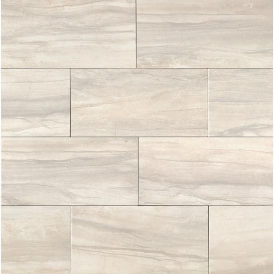 Athena 12 X 24 X 3 8 Floor And Wall Tile In Pearl Leatherflooring Texturas Para Sketchup Porcelanato Textura Pisos Textura