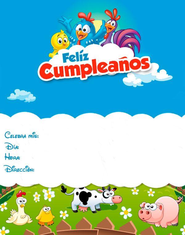 Invitaciones De Cumpleaños Gratis Descarga La Tuya