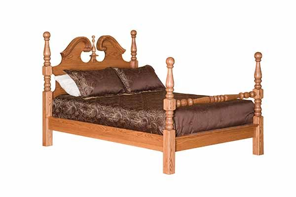 Charmant American Oak Creations U003e Bedroom U003e Beds U003e Deluxe Cannonball Bed