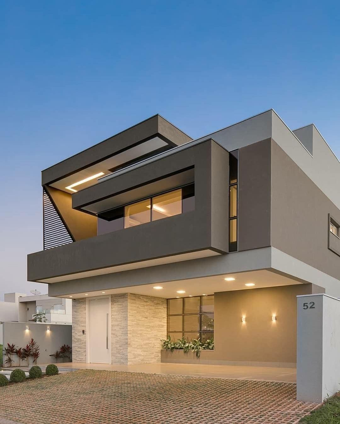 Art Architecture Design On Instagram Do You Want This Follow Us Aadezi Modern House Exterior Modern Exterior House Designs Small House Elevation Design