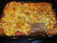 Hackfleisch - Pizza mit Sauce Hollandaise von Didoja48 | Chefkoch #hamburgermeatrecipes