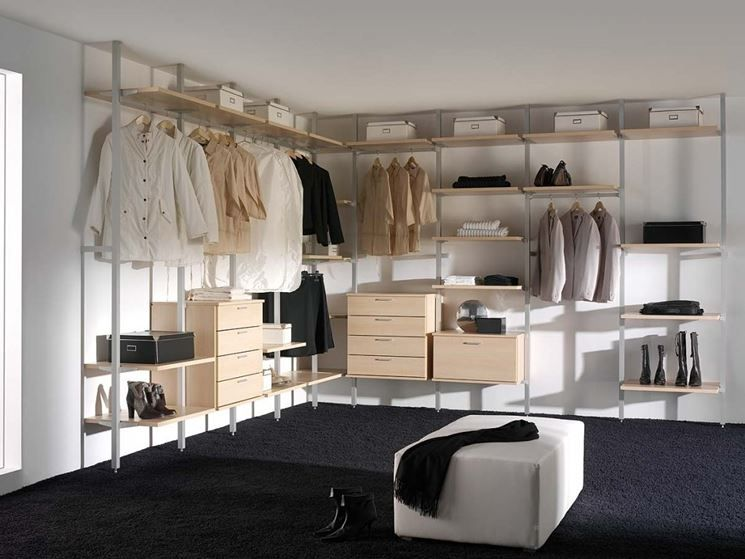 Cabina Armadio Walk In Closets : Risultati immagini per cabina armadio ikea closet