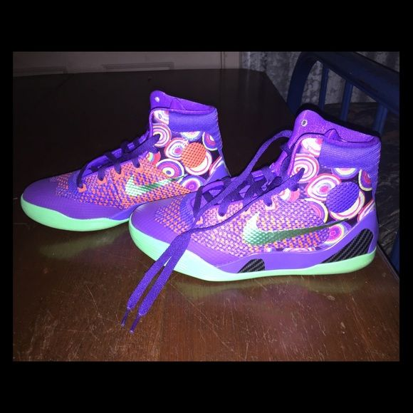 766cef670a4 Kobe Nike basketball high tops Kobe Bryant Nike basketball high tops! Like  brand new ! Worn once ! Nike Shoes Athletic Shoes