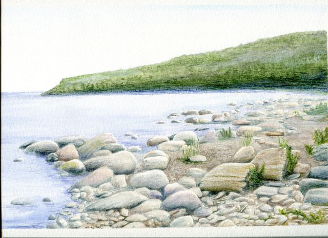 Drawing Landscapes With Coloured Pencils Landscape Coloured Pencil Cool Landscapes Colorful Landscape Landscape Pencil Drawings