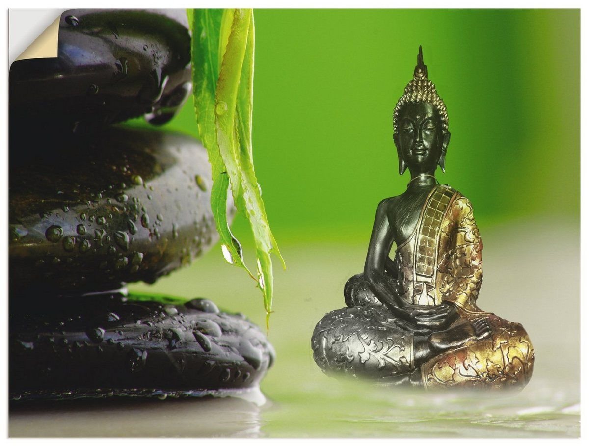 Photo of Buy Artland wall film »Claudia Burlager: Buddha and stones« online OTTO
