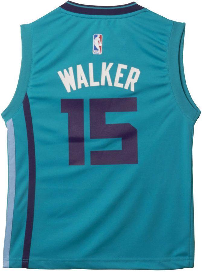 6e1fe2910 adidas Boys  Kemba Walker Charlotte Hornets Revolution 30 Swingman Jersey