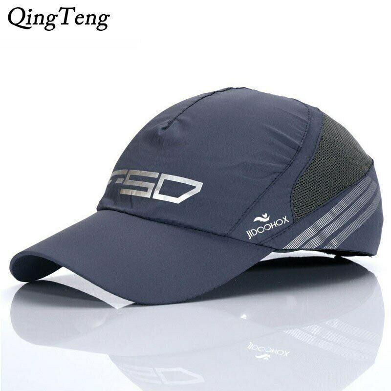 Details About Summer Breathable Mesh Baseball Caps Thin Mercerized Cotton Wicking Hat Cool With Images Mesh Baseball Cap Baseball Cap Mercerized Cotton