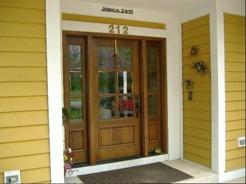 Doors Windows Makes A Statement About The Homeowners Facade House House Front New Homes
