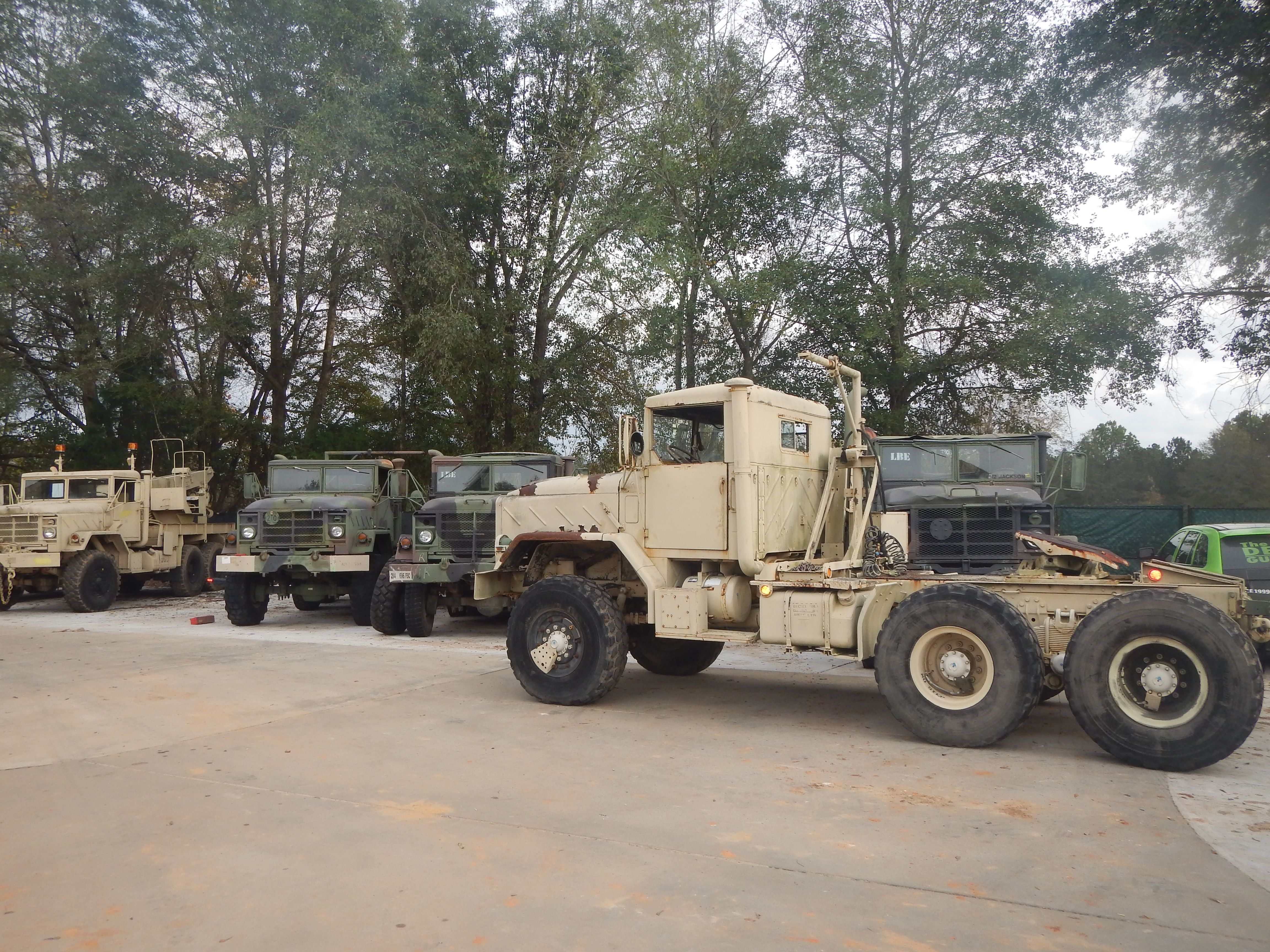 5th wheel tractor truck military surplus 7 000