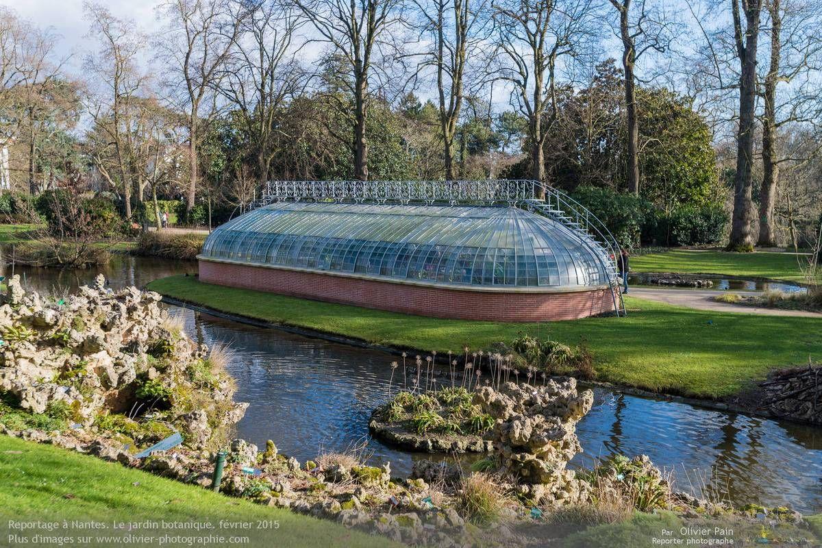 Serre centrale du Jardin des Plantes de Nantes - Loire-Atlantique ...