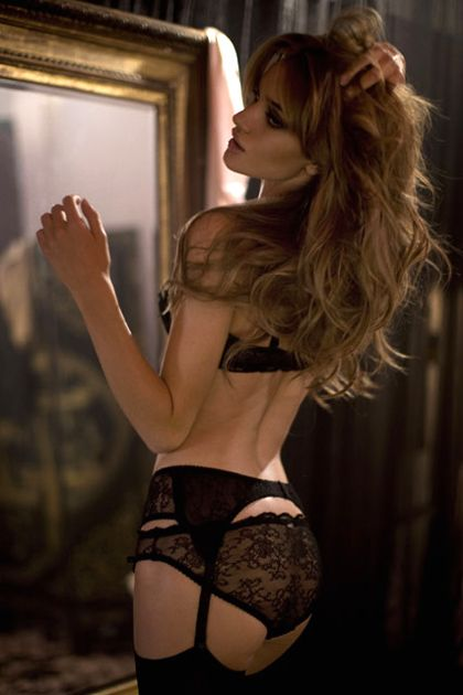Rosie Huntington-Whiteley in the Love Me Tender video for Agent Provocateur, c. 2006