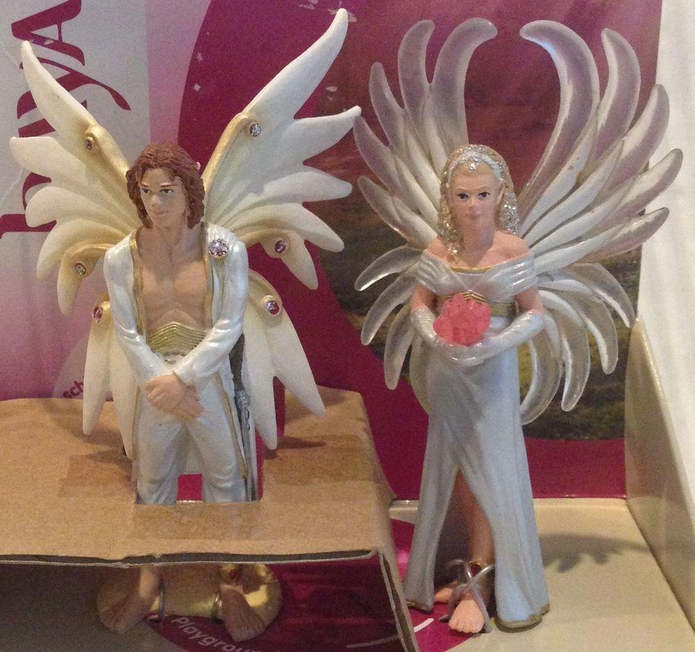 Fantasy Wedding Cake Topper Schleich Bayala Elf Bride Groom NIP ...