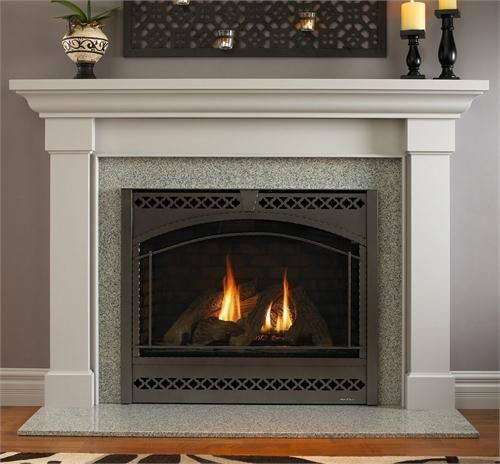 Hearth Cabinet Ventless Fireplaces: Traditional Freestanding Fireplace From Heat & Glo