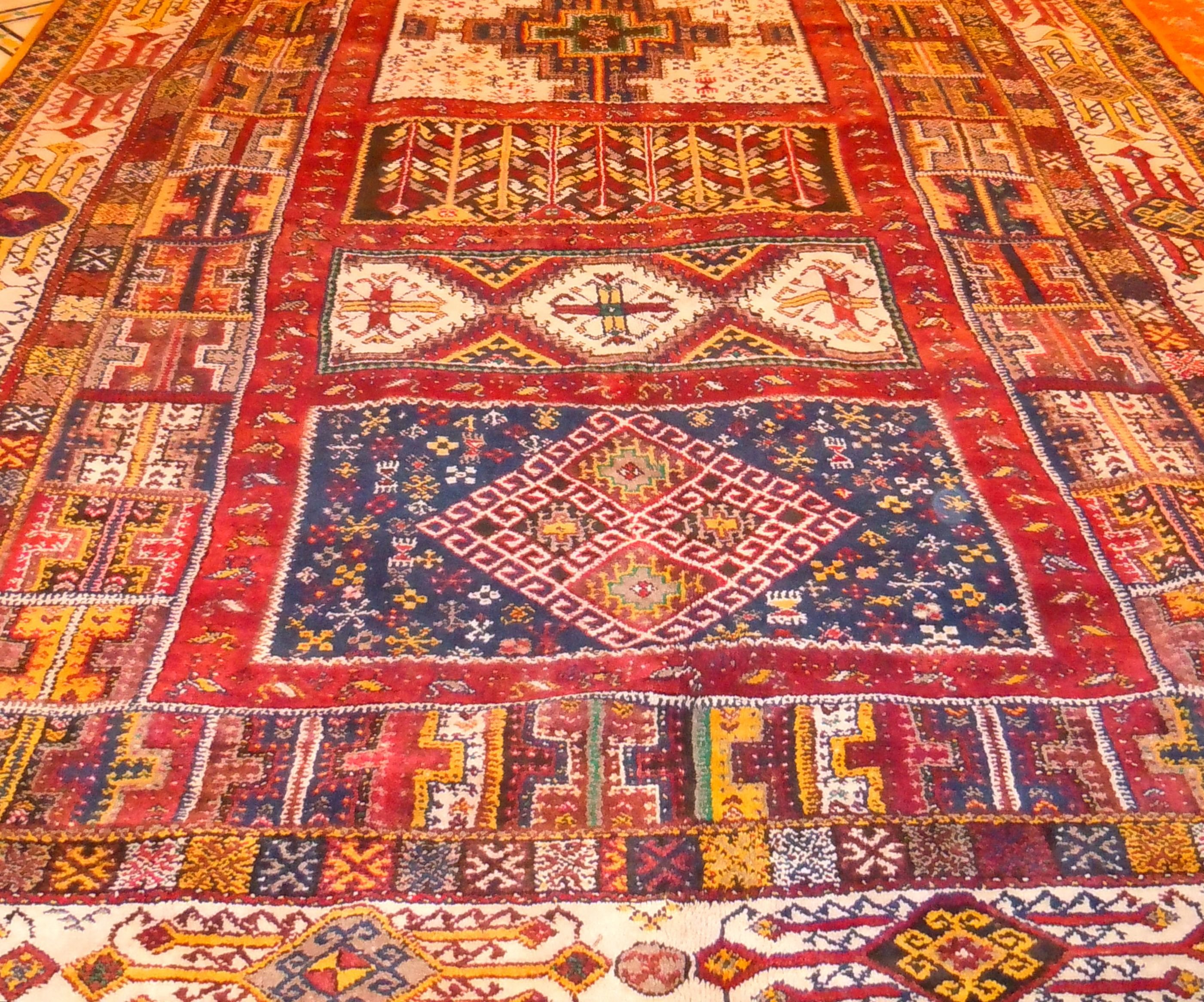 Antique Berber Moroccan rug Shifting Sand Pinterest