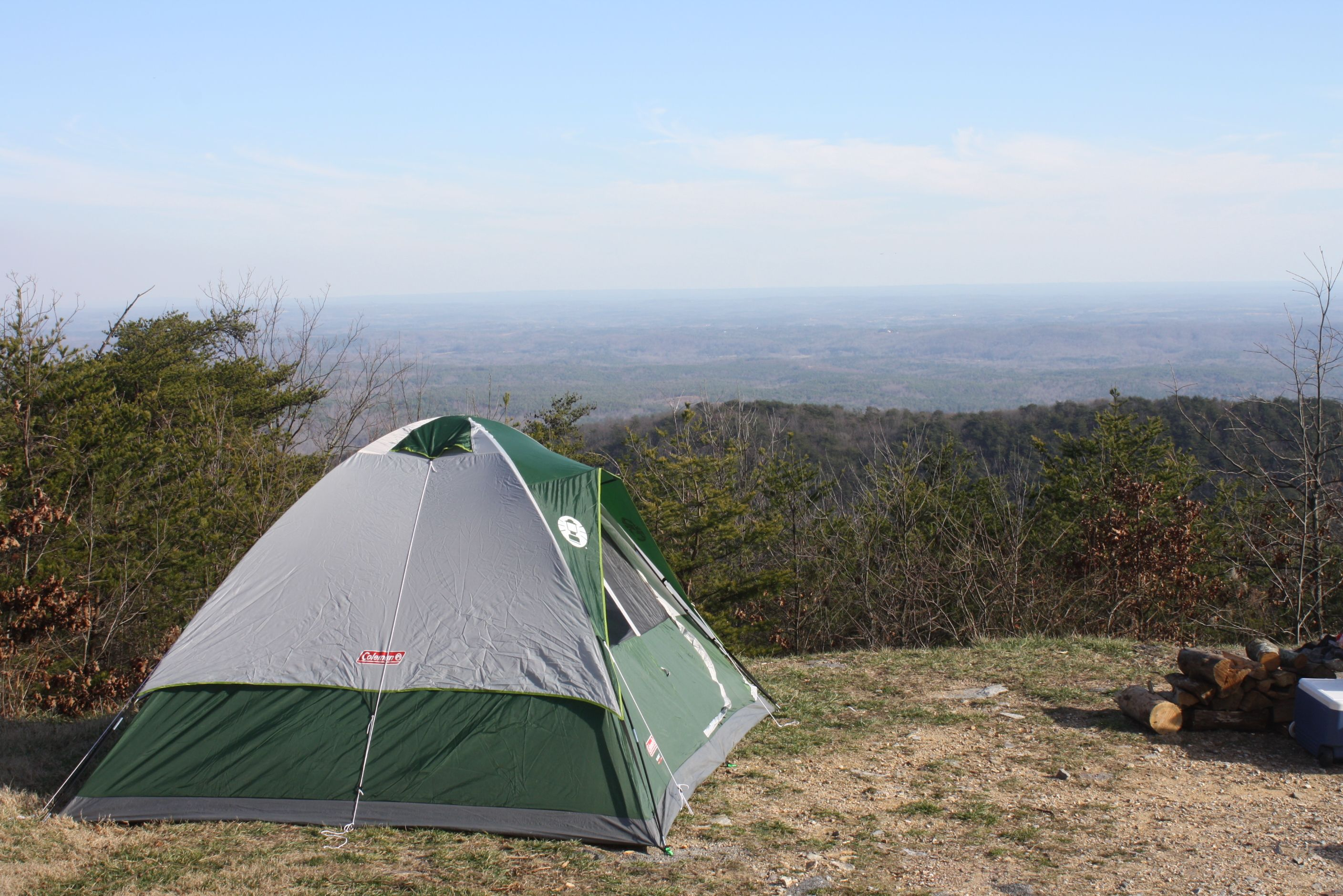 Cheaha camping