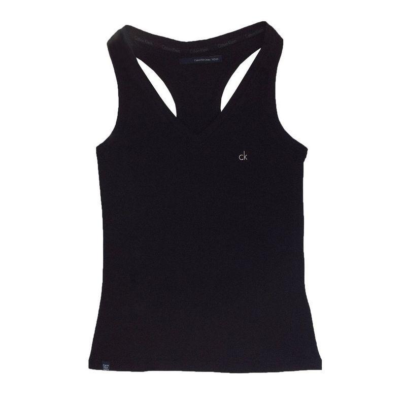 e4a6ed3bf6 Camiseta Regata Feminina Calvin Klein Jeans 100% Original Tam. P   RegatafemininaCk  CalvinKleinFeminino
