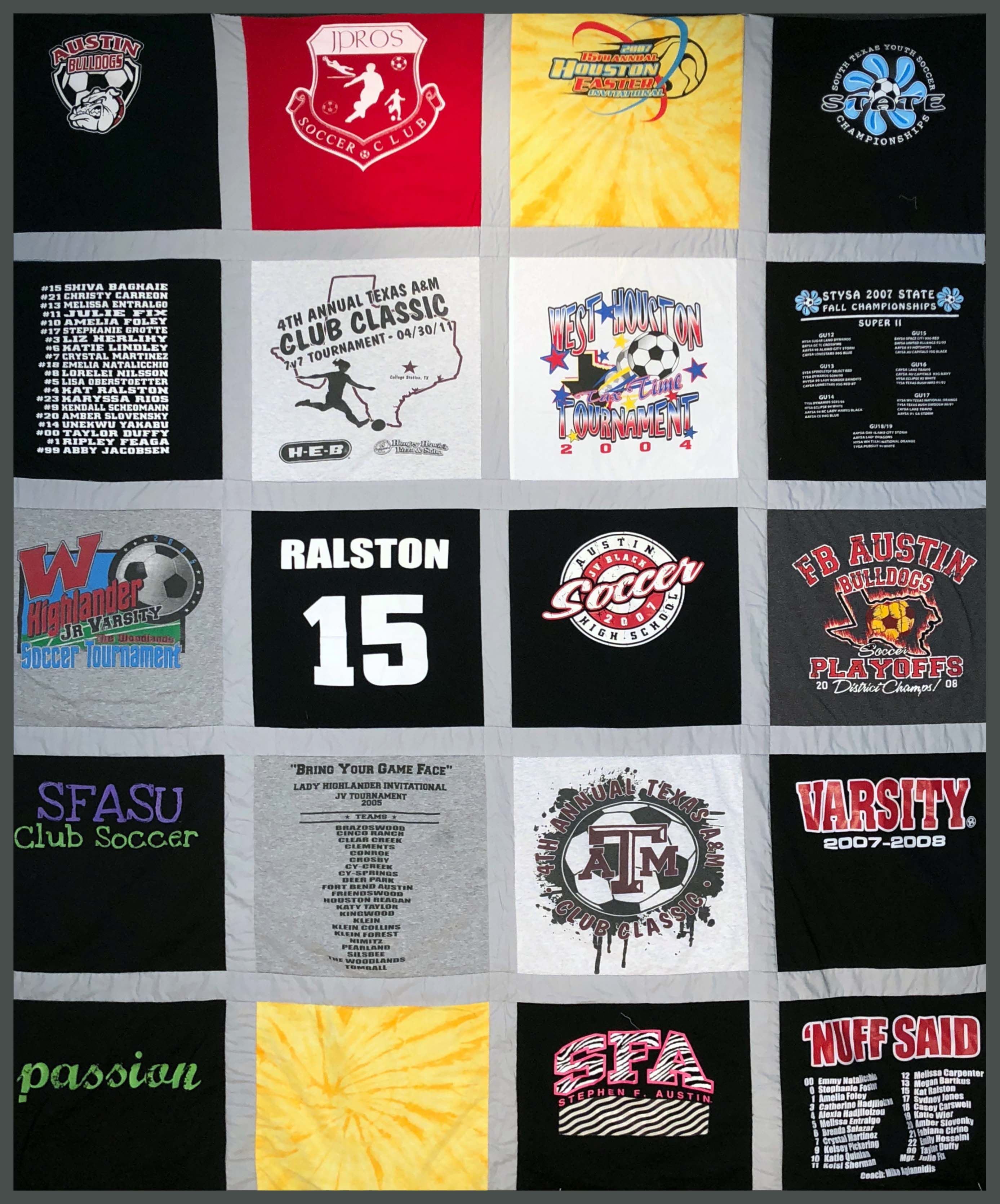 Pin by Michele Scott McColligan on TShirt Quilts Soccer