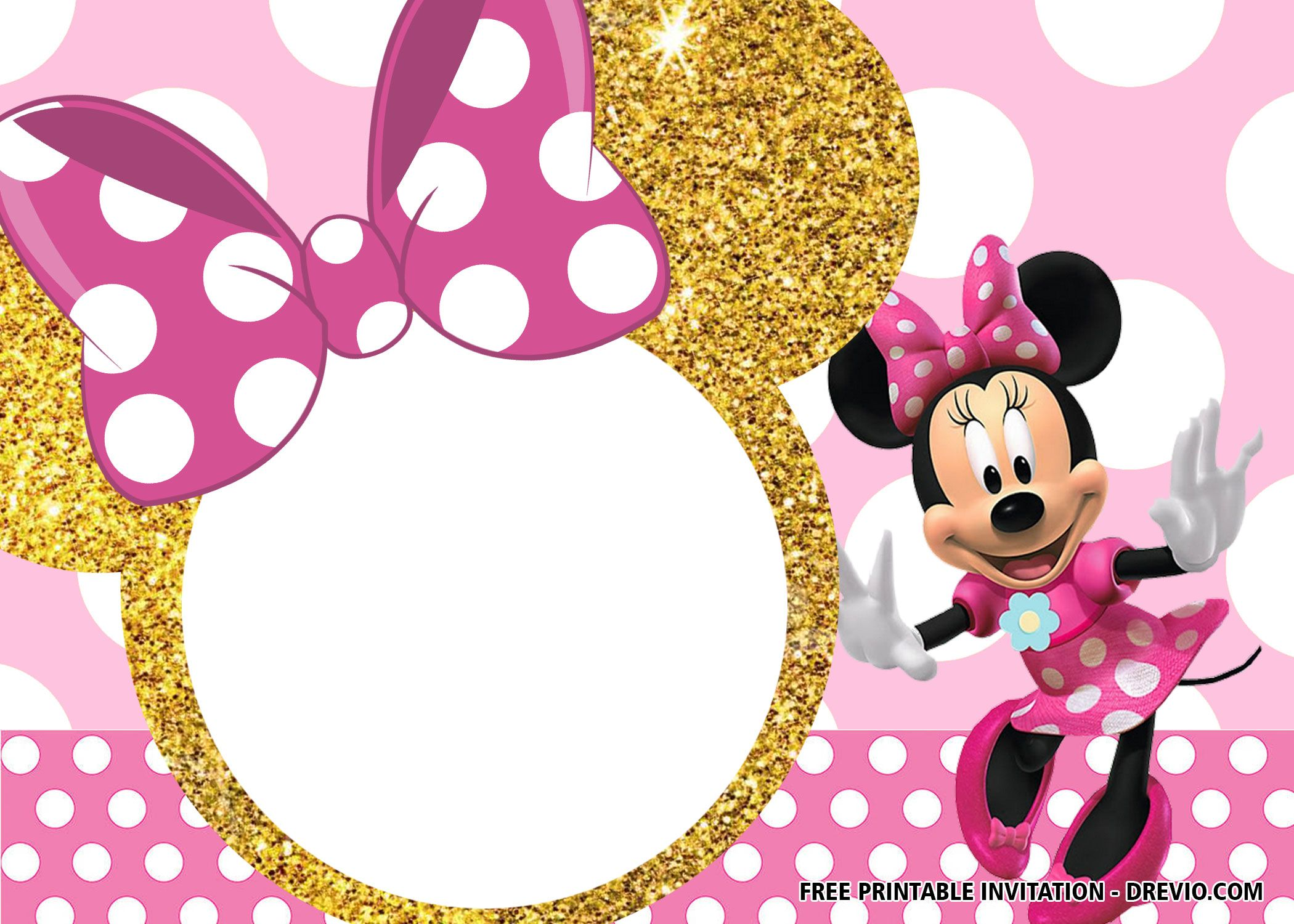 30 Free Printable Minnie Mouse Birthday Invitation Templates Drevio Minnie Mouse Invitations Minnie Mouse Birthday Invitations Minnie Invitations Free minnie mouse invitation template