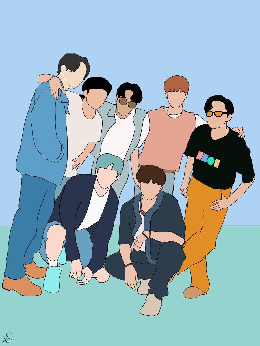 BTS Comeback Print