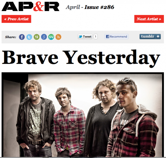 Brave Yesterday In AP Record producer, Music artists