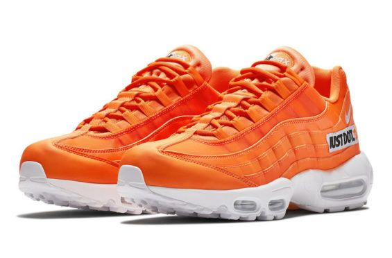 save off 4246c 4bfa3 The Nike Air Max 95 Just Do It Will Also Release In Orange Recently seen in